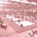 Wettkampfhalle in Duisburg