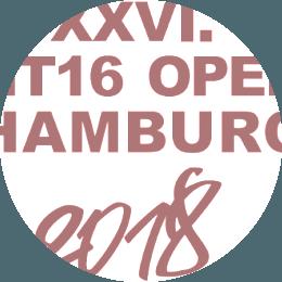 Logo HT16 Open Hamburg 2018